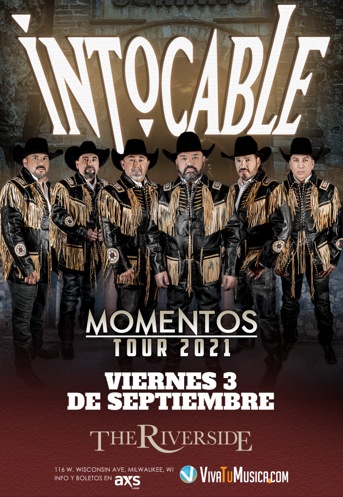 Intocable - The Riverside @ Milwaukee, WI