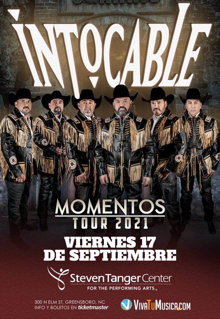 Intocable - Steven Tanger Center for the Performing Arts @ NC 27401 | Greensboro | North Carolina | United States