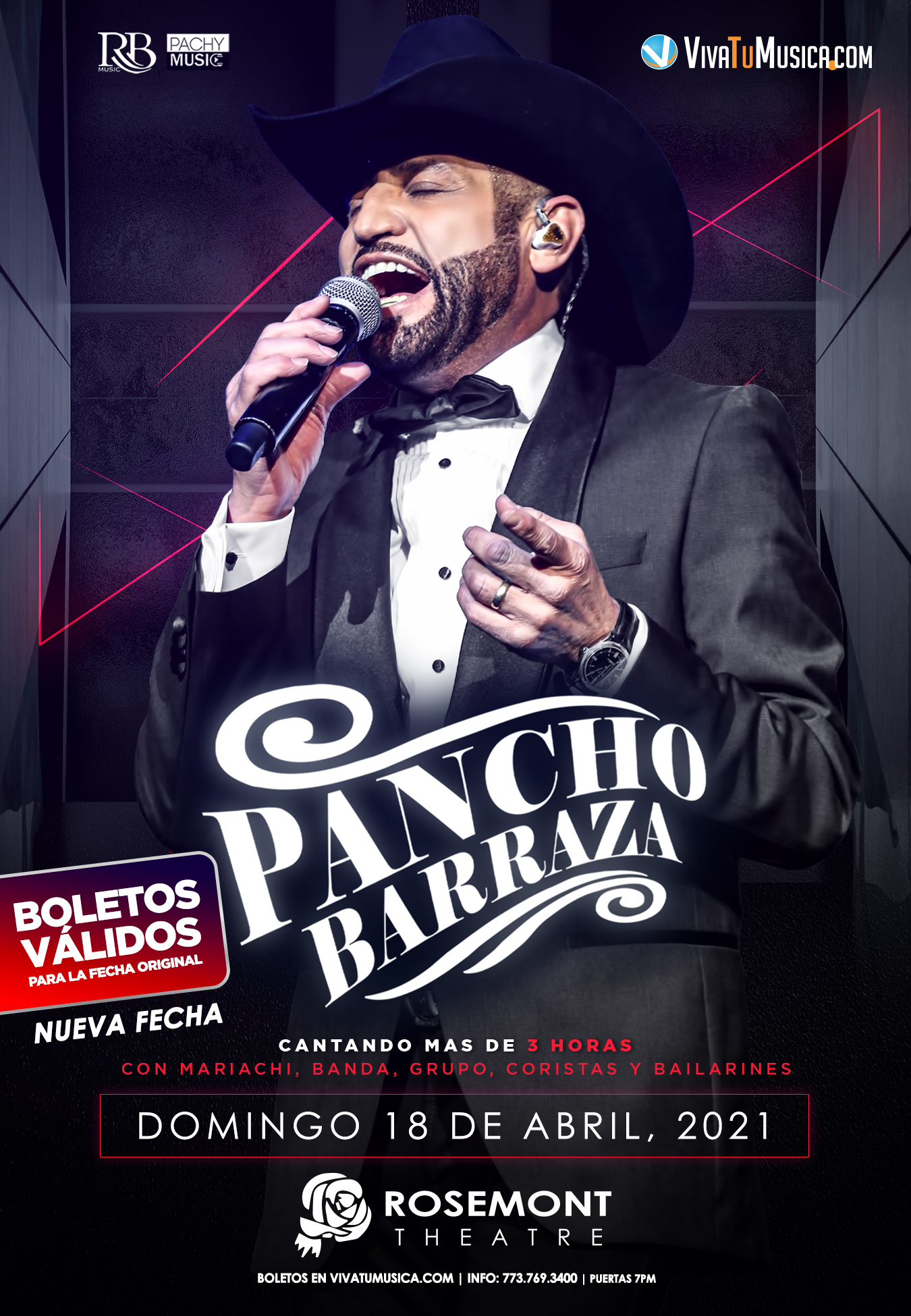 Pancho Barraza - Rosemont Theatre @ Rosemont, IL