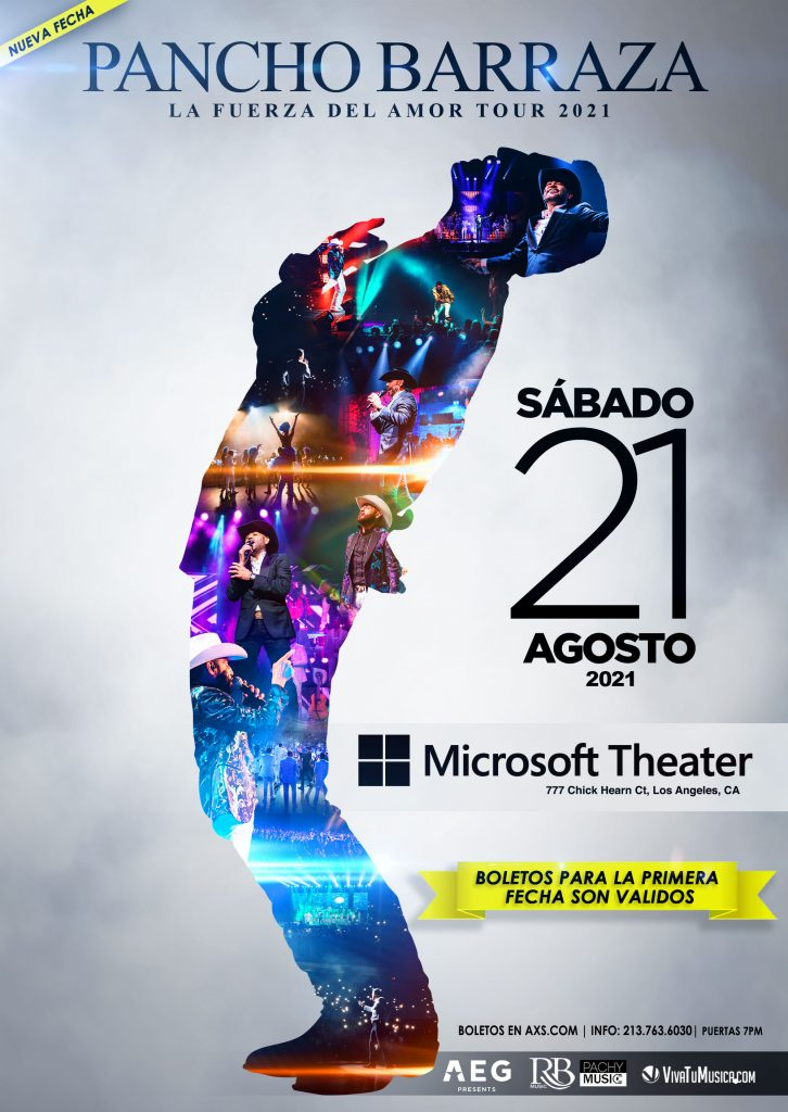 Pancho Barraza - Microsoft Theater @ Los Angeles, CA