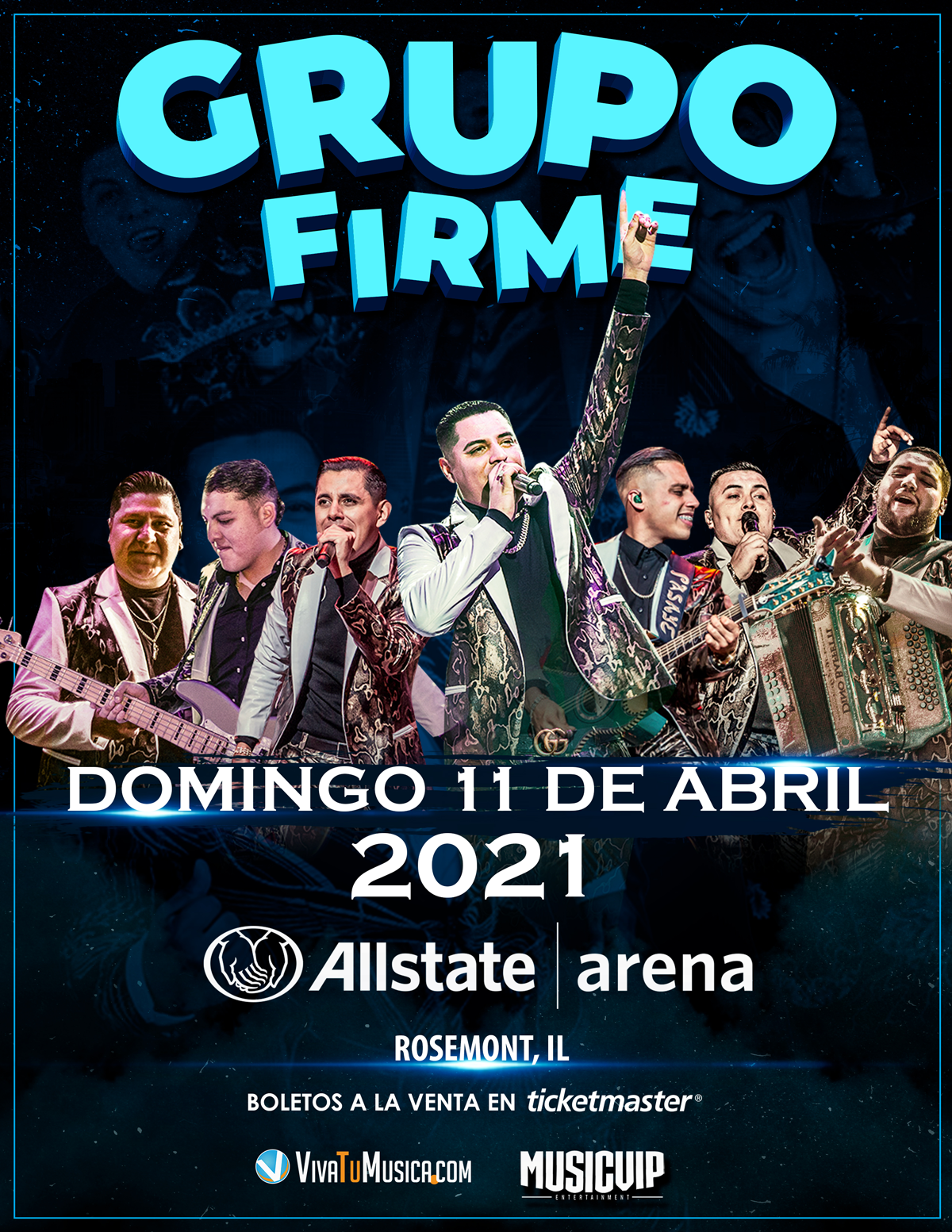 Grupo Firme - Allstate Arena @ Rosemont, IL | Rosemont | Illinois | United States