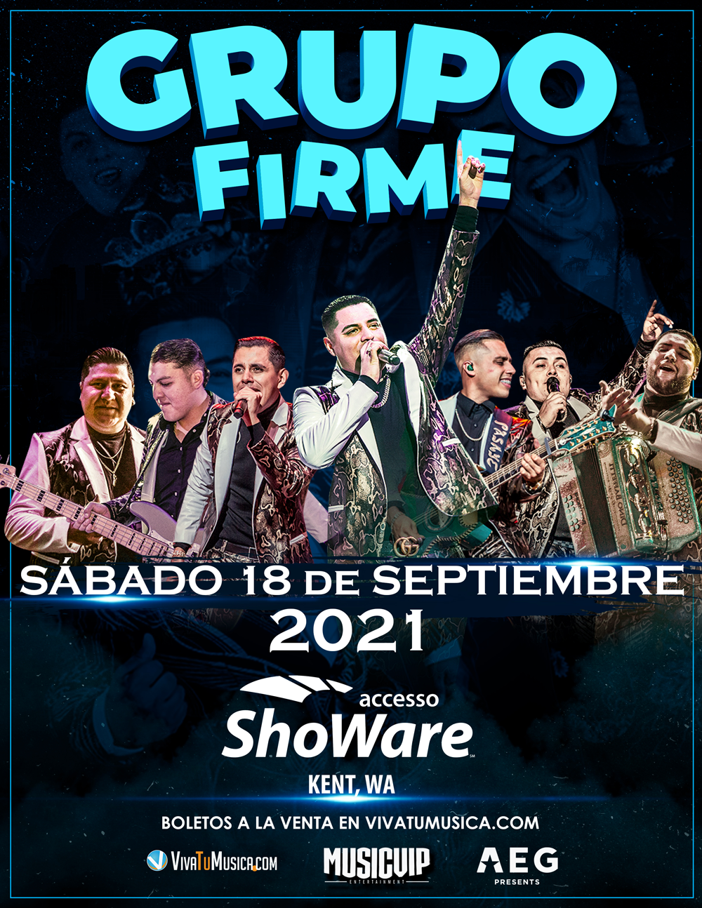 Grupo Firme - Accesso ShoWare Center @ Kent, WA | Rosemont | Illinois | United States