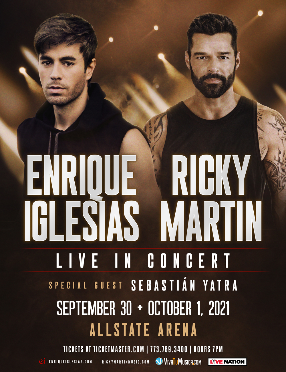 Enrique Iglesias & Ricky Martin - Allstate Arena @ Rosemont, IL | Rosemont | Illinois | United States