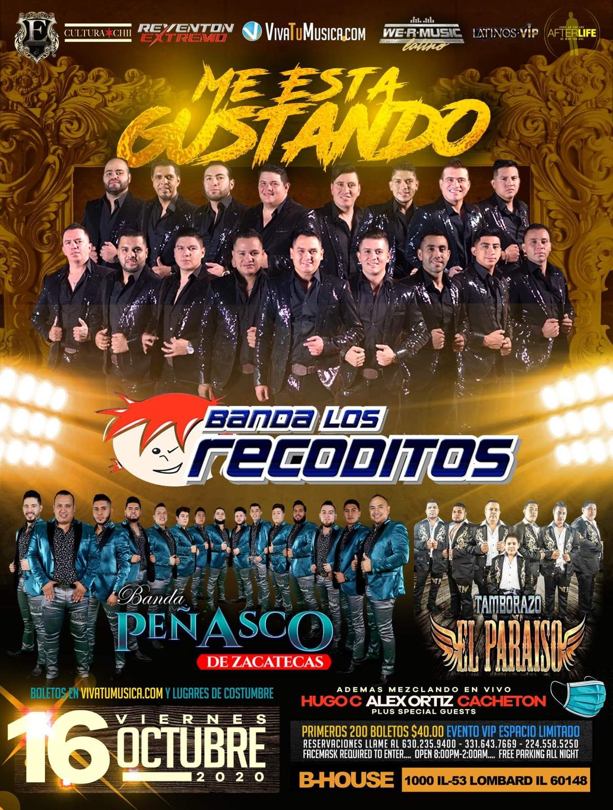 Los Recoditos - B-House @ Lombard, IL | Elkhorn | Wisconsin | United States